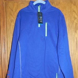NWT Men's Under Armour Blue and Green Pullover